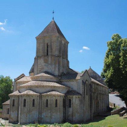 Triade melloise - Eglise St Hilaire