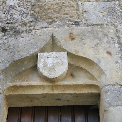 Ecusson Eglise St Romans lès Melle